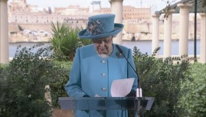 Queen Elizabeth II talks about how Malta has evolved over the years